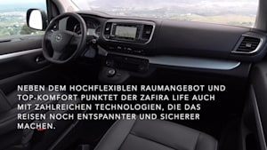 Großraum-Van in Bestform - Der neue Opel Zafira Life