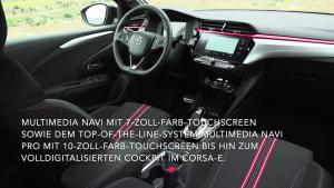 Neuer Opel Corsa fährt erstmals auch rein elektrisch vor