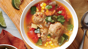 Turn Thanksgiving leftovers into a soup