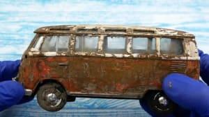Man restores iconic Volkswagen Samba van