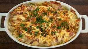 How to make chicken cordon bleu casserole