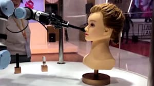 Check out this robotic makeup assistant