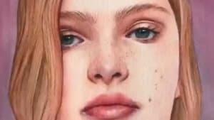 Artist paints beautiful portraits of other women