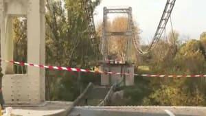 Brückeneinsturz bei Toulouse - 1 Tote, Suche nach Vermissten