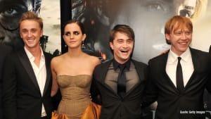 "Rupert Grint spricht über ""Funke"" bei Tom Felton & Emma Watson"