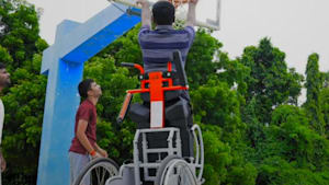 First-ever standing wheelchair is affordable