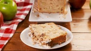 Apple crisp pound cake > banana bread