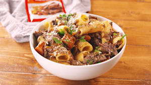 Pot roast pasta is the instant dish you need