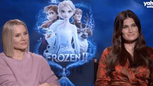 Kristen Bell, Idina Menzel on Frozen 2's music