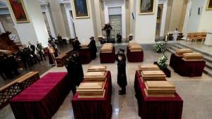 Litauen: Staatsbegräbnis für die Aufständischen gegen das zaristische Russland
