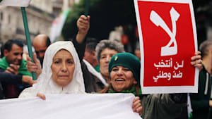 Kein Ende in Sicht: Algerien protestiert am 40. Freitag in Folge