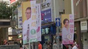 Hongkong: 1. Wahl seit Ausbruch der Proteste