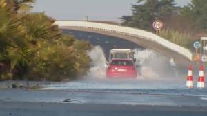 Schwere Unwetter in Teilen Frankreichs und Italiens - 77-Jähriger vermisst