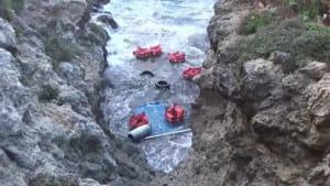 Tote und gerettete Migranten - Italien testet neues Verteilverfahren