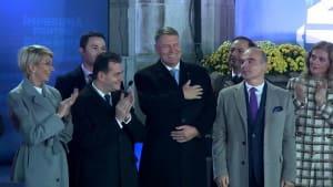 Klaus Iohannis mit mehr als 63 Prozent wiedergewählt
