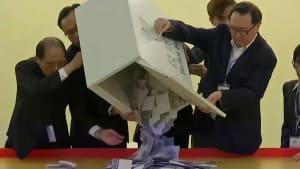 Wahlerfolg für Hongkonger Regierungsgegner
