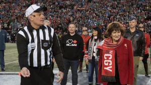 Alberta Premier's Football Hoodie Divides Twitter