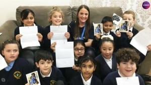 Meghan Markle wins over elementary school students