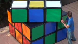 This is the world's largest Rubik's Cube