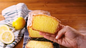 How to make lemon drizzle loaf cake