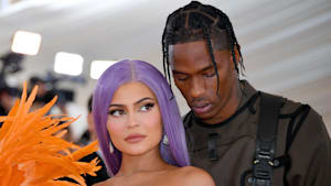 Kylie Jenner & Travis Scott's flirty Thanksgiving