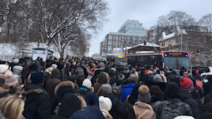 Fire Sparks Toronto Transit Chaos
