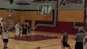Student's 3-Pointer Sends Crowd Into A Frenzy