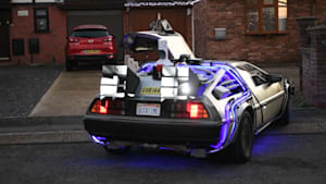 UK man transforms car into real-life DeLorean