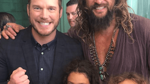 Jason Momoa calls out Chris Pratt