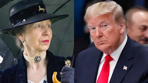 Did Princess Anne shade President Donald Trump?