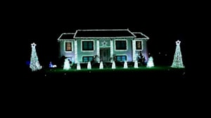 Home has 'Nutcracker' themed light show