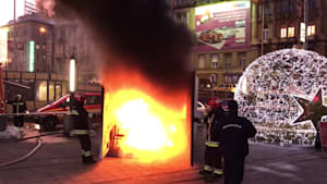 Eindrucksvolle Demonstrationen der Feuerwehr zum Brandschutz!
