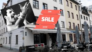 Liebesnest von Weltstar Freddie Mercury steht zum Verkauf