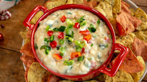How to make creamy Christmas corn dip