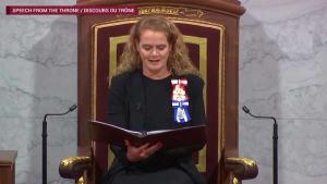 Full Speech From The Throne Video