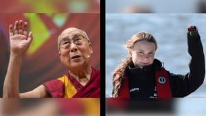 Greta Thunberg bekommt Unterstützung vom Dalai Lama