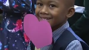 Boy invites his entire class to adoption hearing