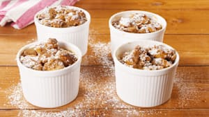 Gingerbread pudding = perfect holiday treat