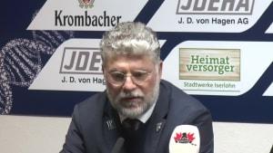 Die Trainerstimmen nach der 1:5 Pleite der Iserlohn Roosters gegen Wolfsburg
