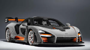 Fast mit einer halbe Million Bausteine, der erste vollwertige LEGO McLaren Senna