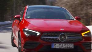Das neue Mercedes-Benz CLA Coupé - Cool, lässig, aufregend- Ein Trendsetter