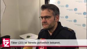 Messerattacke: Polizist bei Kontrolle in München schwer verletzt