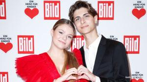 Lukas Rieger & Faye Montana: Paar-Debüt auf dem roten Teppich