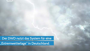 DWD löst KATWARN AUS: Unwetter in Deutschland
