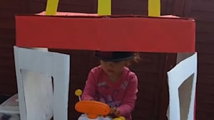 3-year-old creates DIY McDonald's