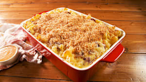 Reuben mac and cheese is the ultimate comfort food