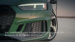 Update für das RS 5 Coupé und den RS 5 Sportback - Gestrafft - das Außendesign