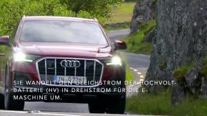 Der Audi Q7 TFSI e quattro - Zwei Motoren und quattro-Triebstrang - Antrieb und Kraftübertragung