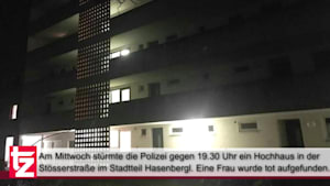 Mordfall im Hochhaus in München-Hasenbergl