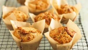 Weihnachtlicher Genuss mit leckeren Apfel-Walnuss-Muffins